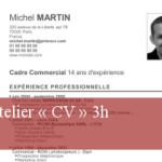 Atelier « CV » 3h