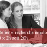 Atelier « recherche emploi » 10 x 2h soit 20h